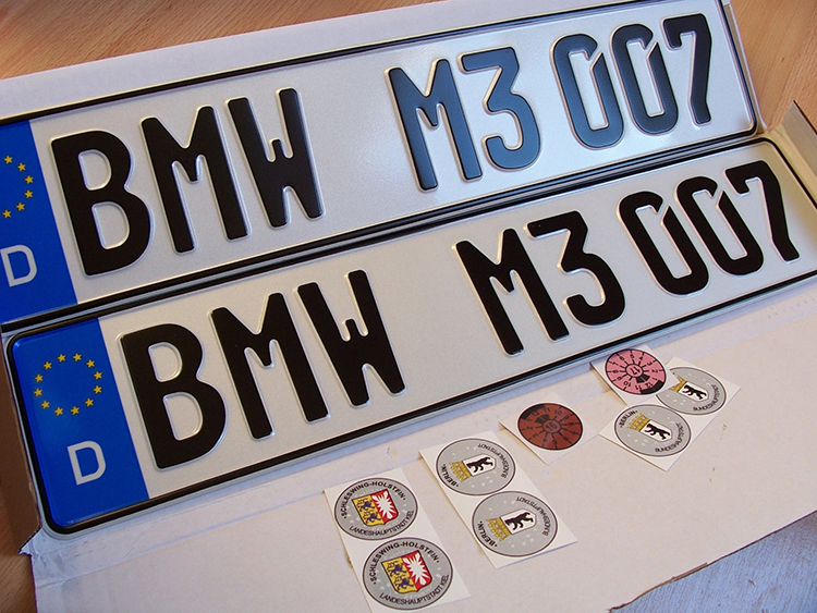 Car License Plate Motorcycle Number Plate
